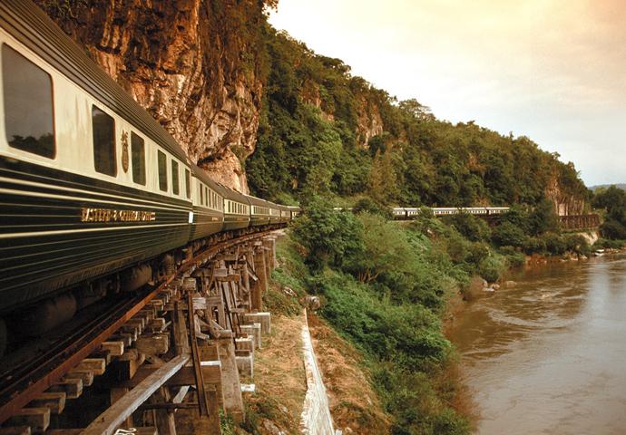 люксовый поезд фото