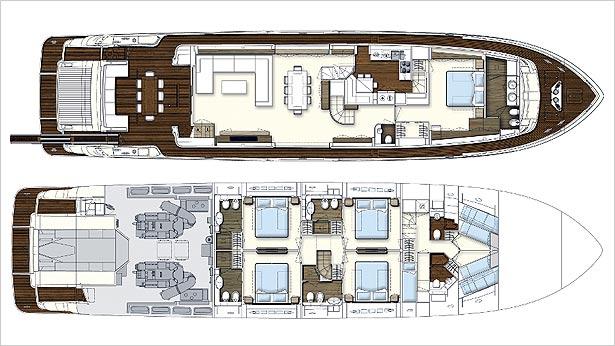 Новая яхта Ferretti 960 (фото 3)