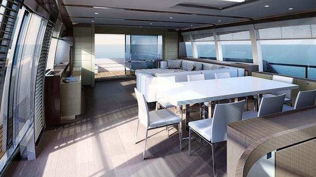 Новая яхта Ferretti 960 (фото 2)