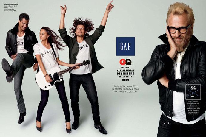 Коллаборация Gap и журнала GQ (фото 3)