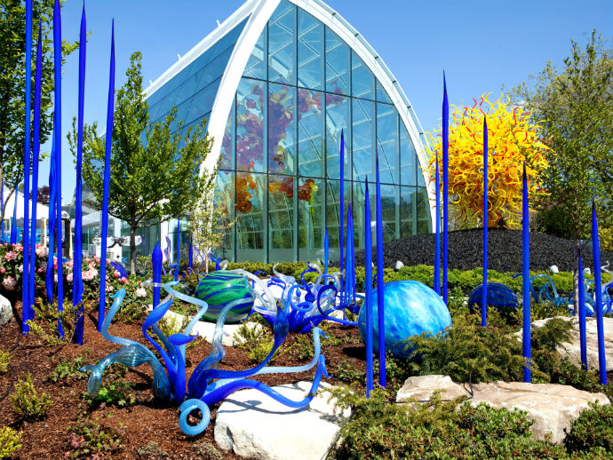 Выставка Chihuly Garden and Glass (фото 6)