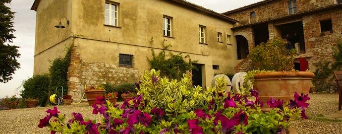 Старинный замок в садах Тосканы (фото 3)