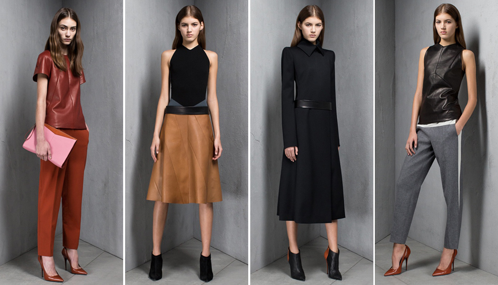Лукбук Narciso Rodriguez pre-fall 2013