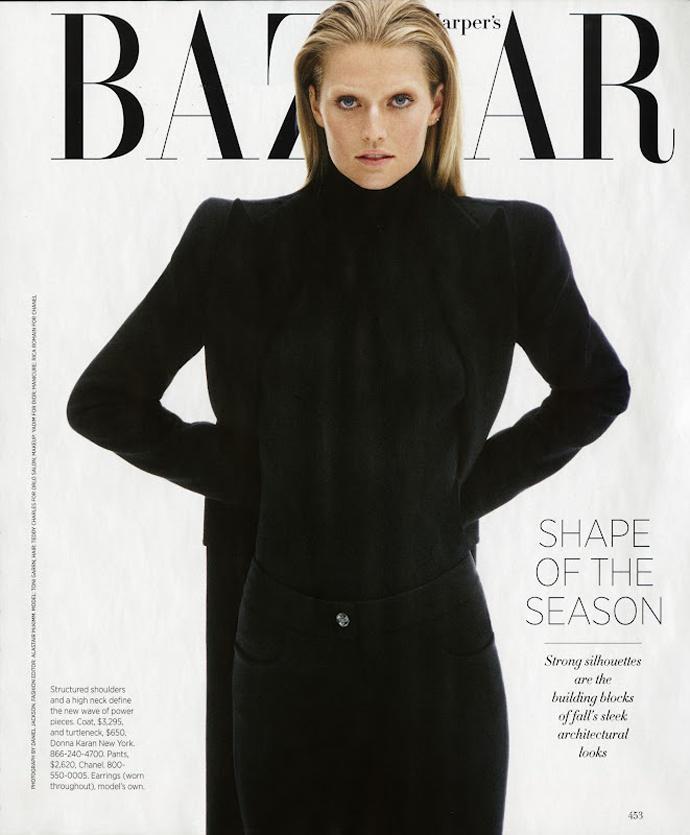 Тони Гаррн для Harper's Bazaar USA (фото 1)