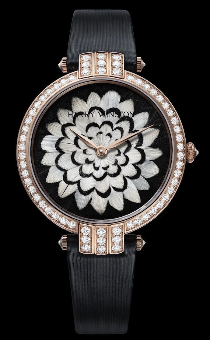 Коллекция часов Harry Winston Premier Feathers (фото 3)