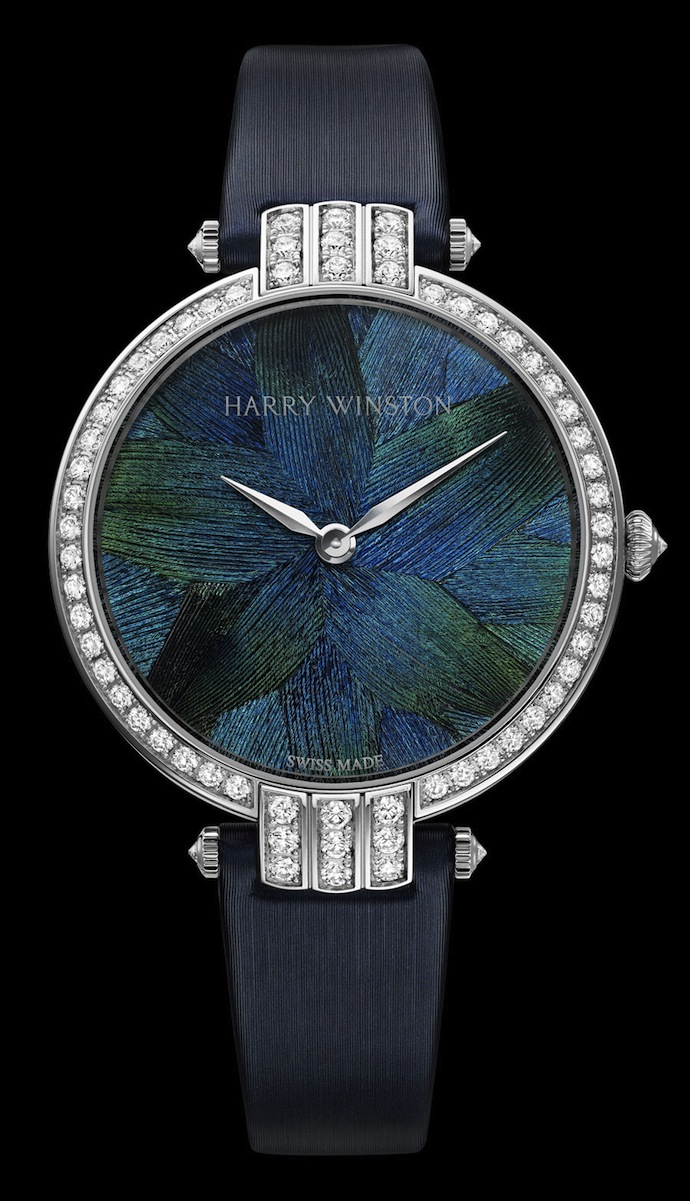 Коллекция часов Harry Winston Premier Feathers (фото 4)