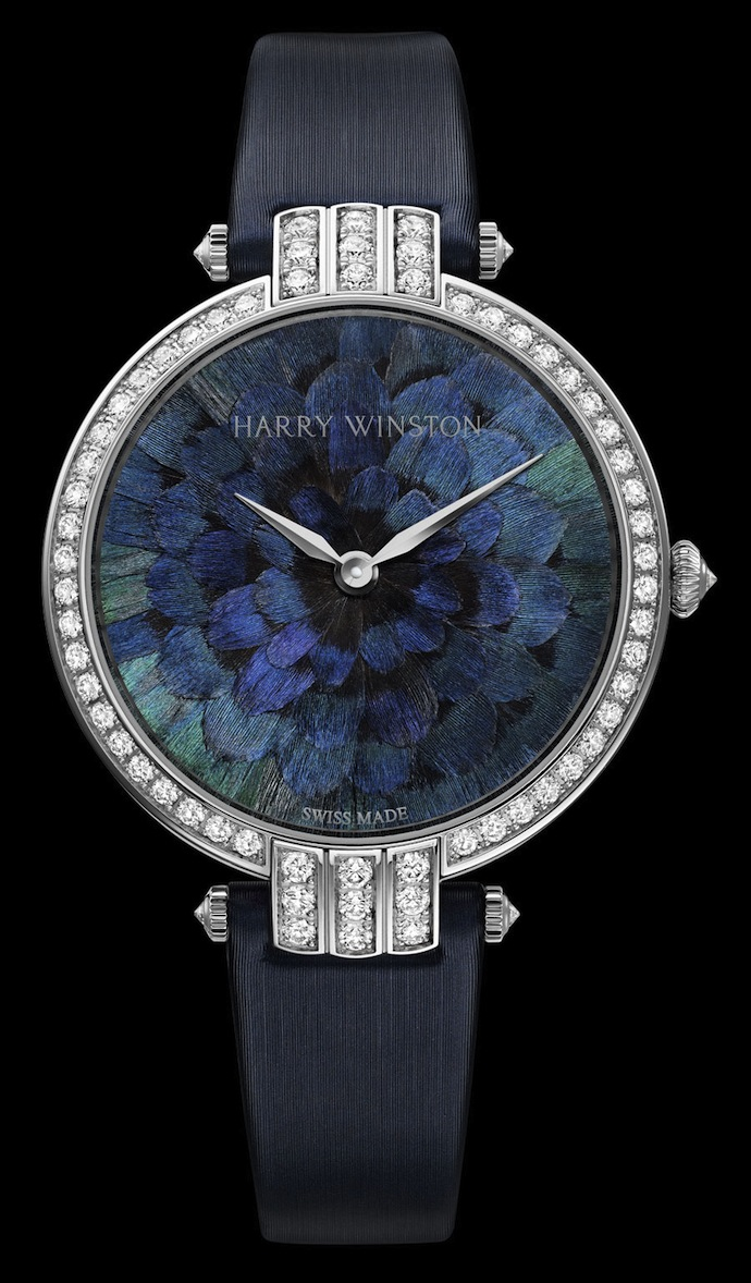Коллекция часов Harry Winston Premier Feathers (фото 1)