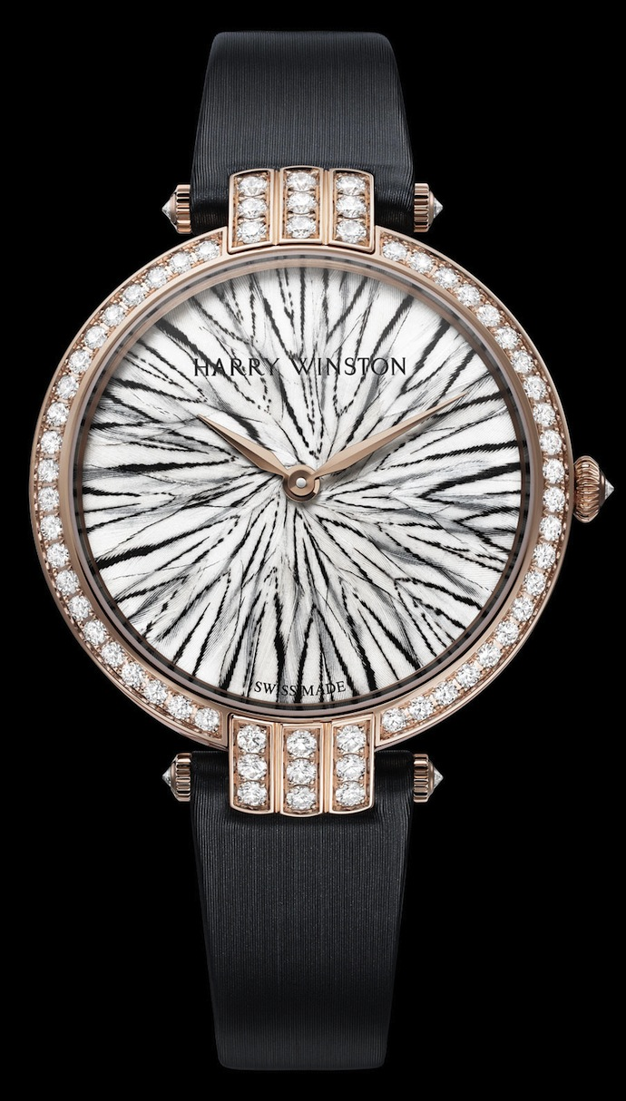 Коллекция часов Harry Winston Premier Feathers (фото 2)