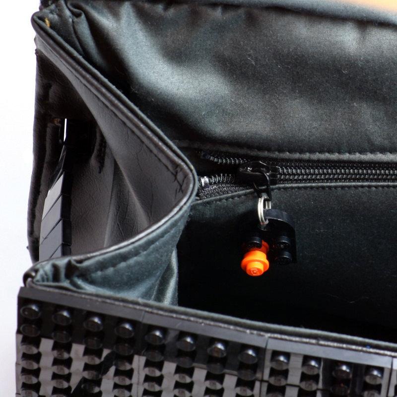Представили сумку Birkin от HERMÈS из деталей конструктора L - Фото.  Hermes Birkin из кубиков LEGO.