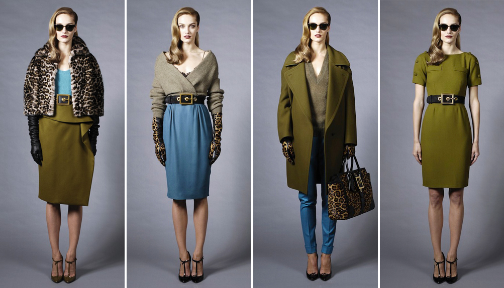 Коллекция Gucci pre-fall 2013 (фото 1)