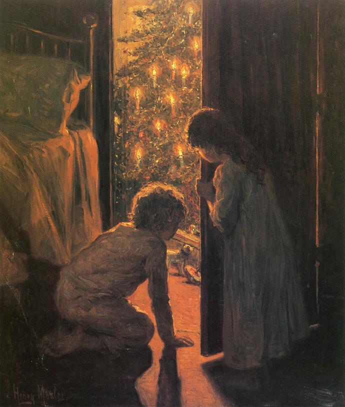 Новый год и Рождество в живописи (фото 14)