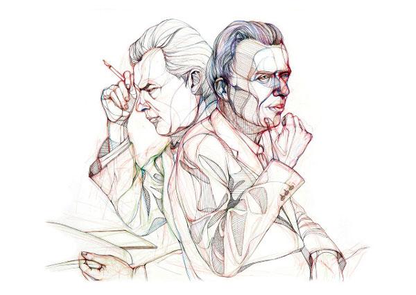Знаменитые писатели за работой (фото 7)