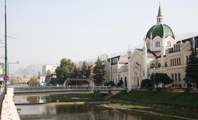 Мост-петля в Сараево (фото 9)