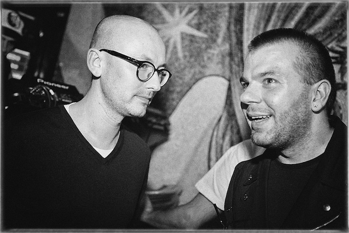Matthew Herbert в Denis Simachev bar (фото 3)