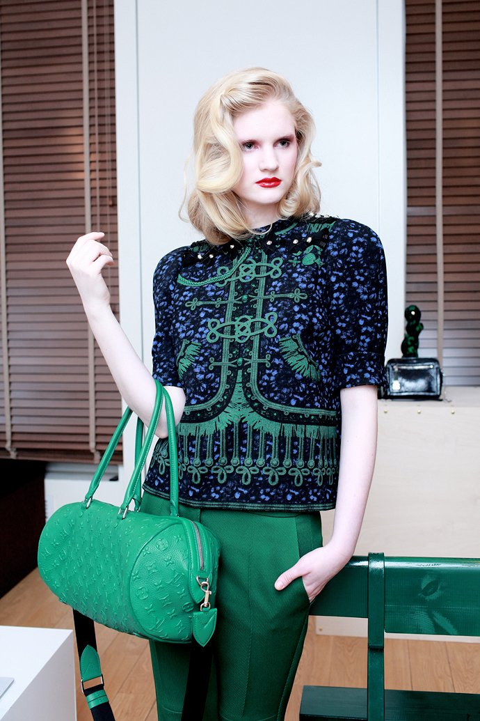 Louis Vuitton: коллекция pre-fall 2012 (фото 1)
