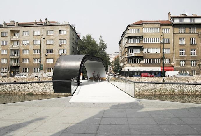 Мост-петля в Сараево (фото 8)