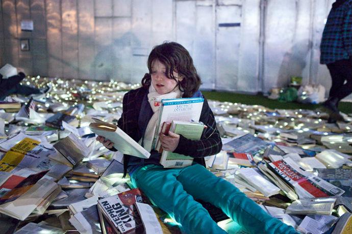 Тысячи книг на дорогах Мельбурна (фото 3)
