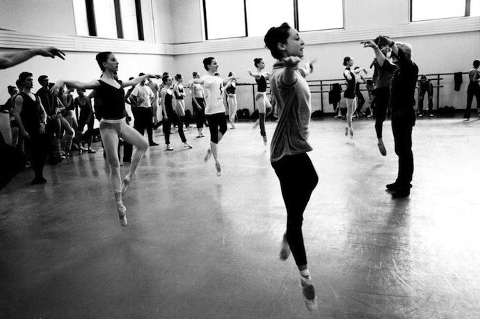 New York City Ballet в снимках Генри Лейтвайлера (фото 20)