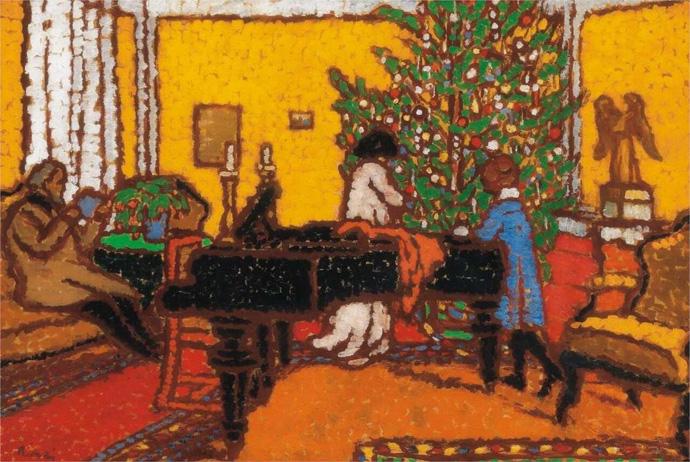 Новый год и Рождество в живописи (фото 8)