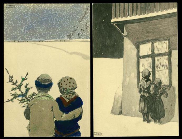 Новый год и Рождество в живописи (фото 11)