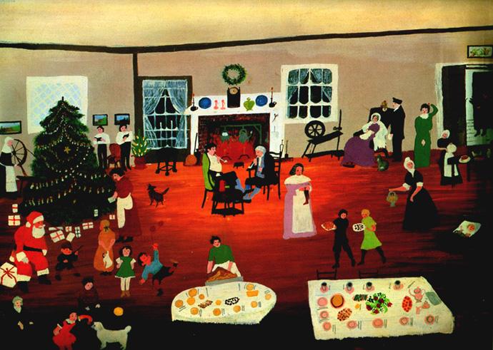 Новый год и Рождество в живописи (фото 10)