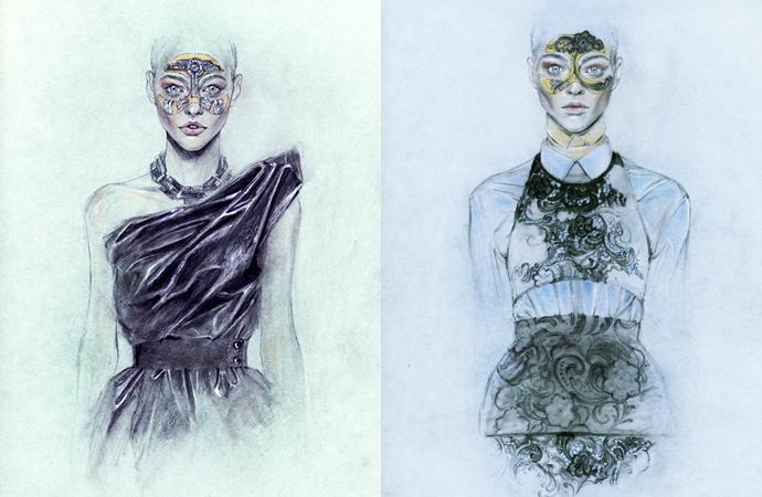 Мода в иллюстрациях. Часть 2 (фото 4
