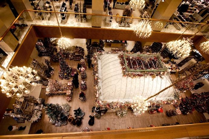 Новогодний базар открылся в ЦУМе (фото 2)