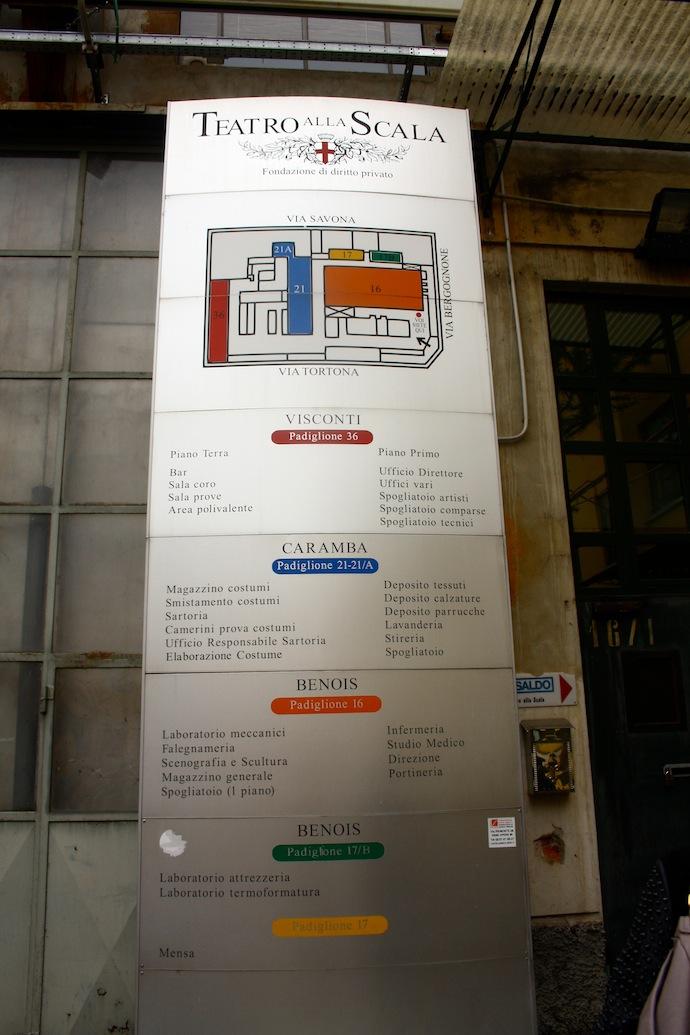 Театр La Scala: взгляд изнутри