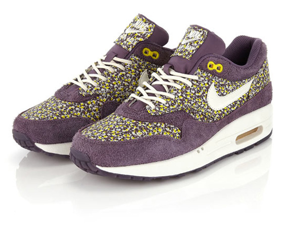 differently aed7f 90ddd ... Nike Новая коллекция Nike и Liberty (фото 5) nike air max 1 wmns  premium purple dynasty linen shoes like in printed little great beautiful  nike ...