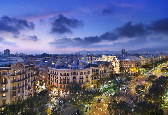 Барселона петербурга