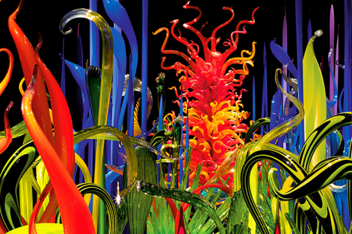 Выставка Chihuly Garden and Glass (фото 4)