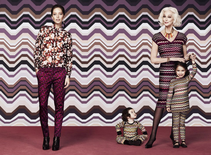 Рекламная кампания Missoni for Lindex