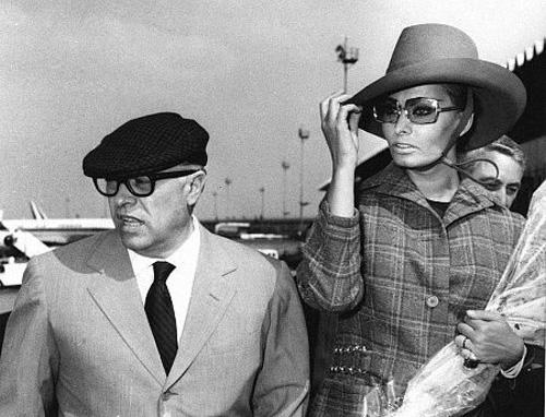 Культовые пары: Софи Лорен и Карло Понти (фото 18)