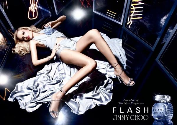 Наташа Поли в рекламе второго аромата Jimmy Choo (фото 1)