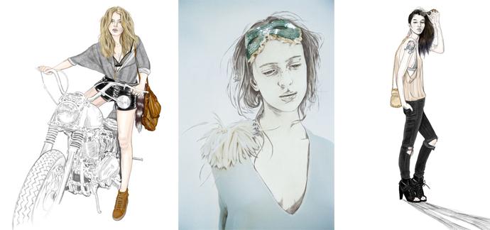 Мода в иллюстрациях. Часть 2 (фото 6