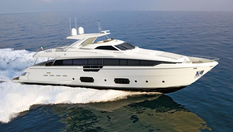Новая яхта Ferretti 960 (фото 1)