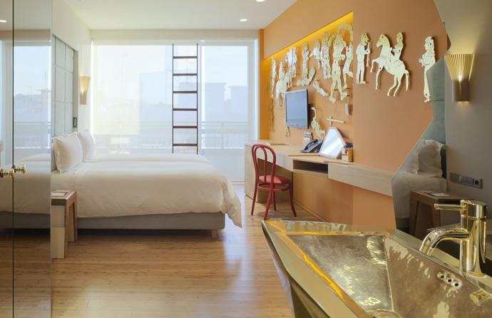 Дизайнерский отель Фернандо и Умберто Кампана (фото 5)