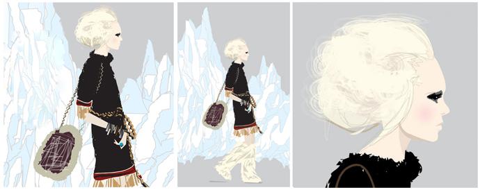 Мода в иллюстрациях. Часть 2 (фото 1