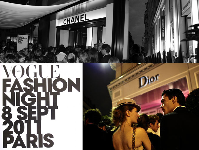 Fashion's Night Out Paris и NYC