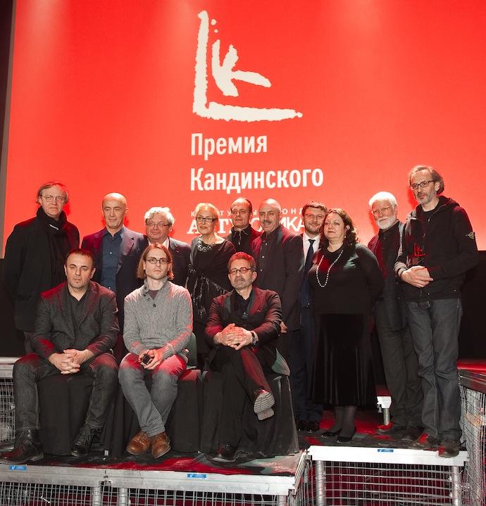 """Вручение премии Кандинского в """"Ударнике"""" (фото 16)"""