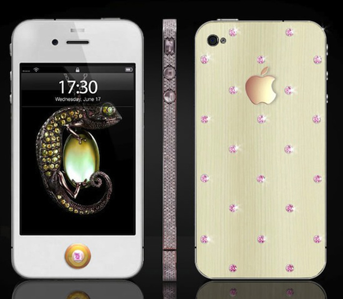 iPhone Pink Diamond