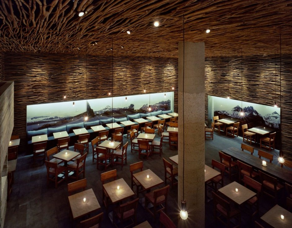 Пять ресторанов с необычным интерьером buro