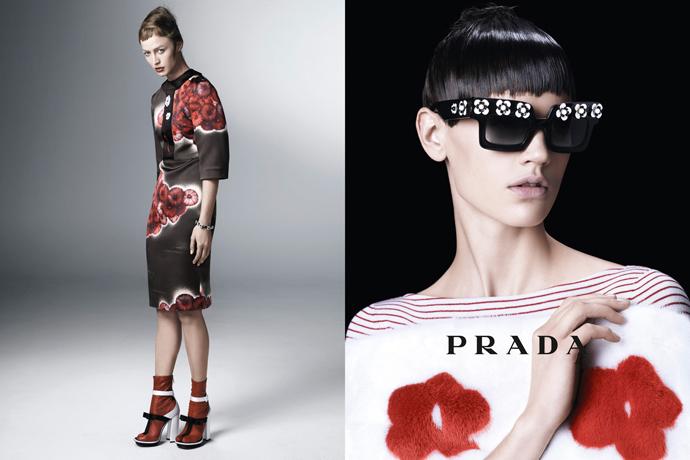Весенне-летняя кампания Prada (фото 10)