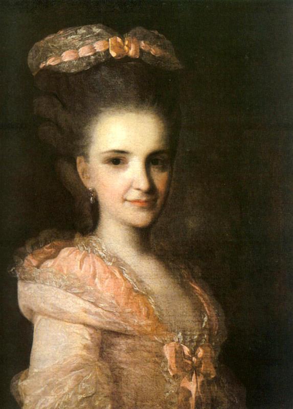 Ф с рокотов портрет неизвестной в