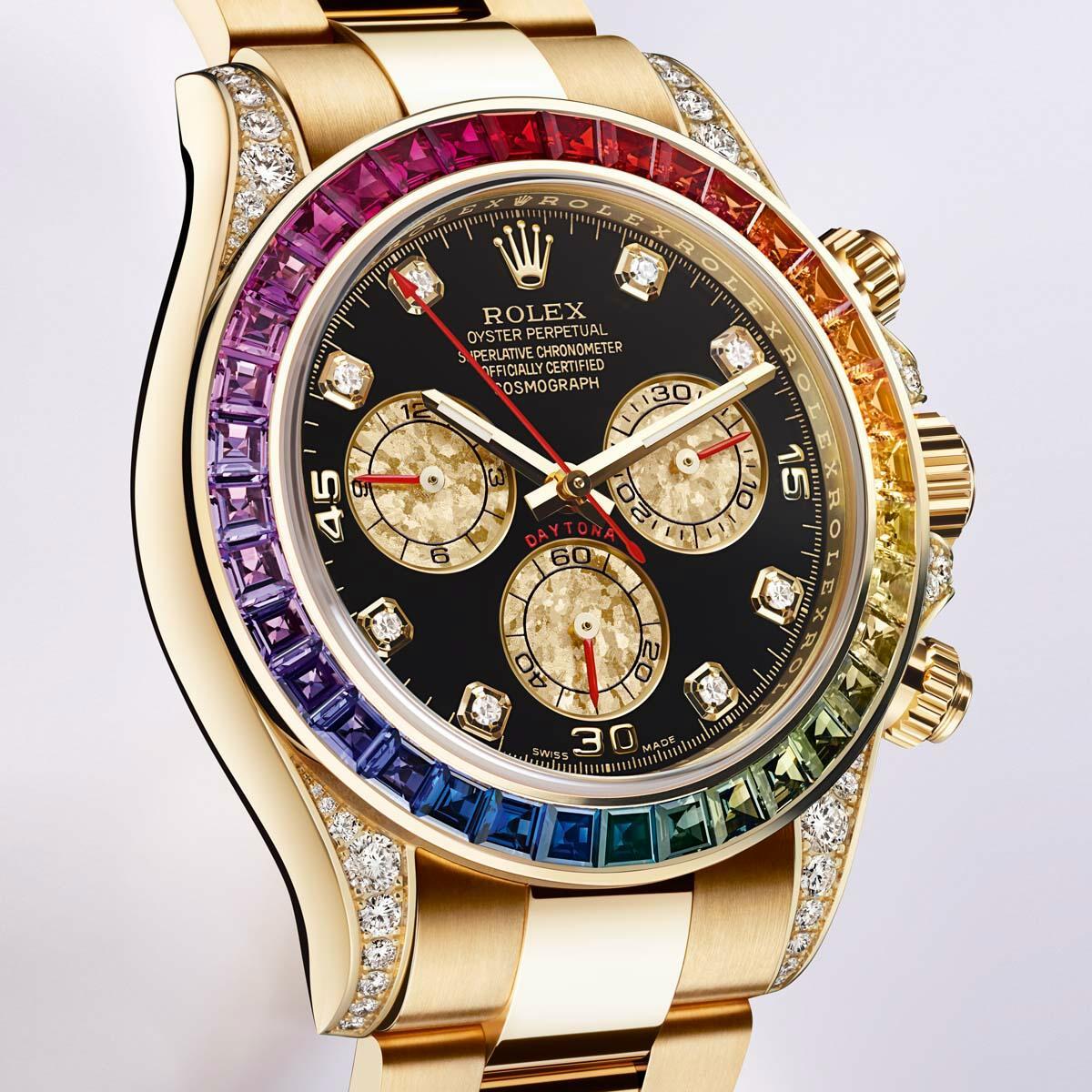 данным статистики, часы rolex daytona rainbow цена женский