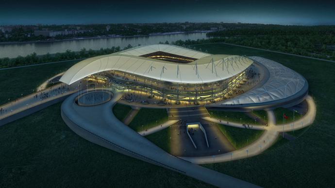 Новый стадион в Ростове-на-Дону (фото 1)