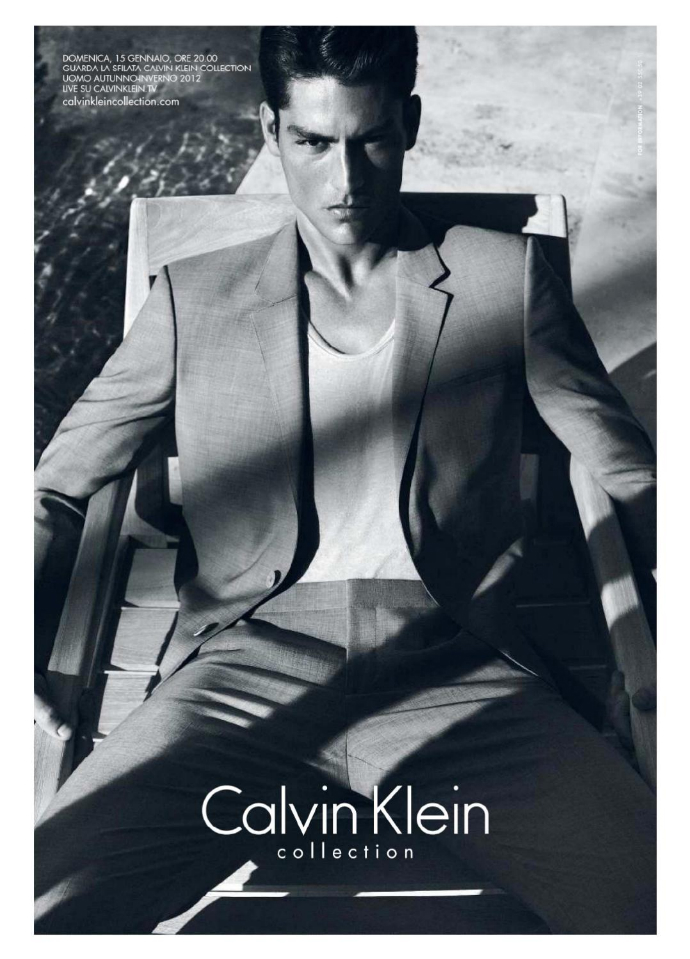 Рекламная кампания Calvin Klein Collection