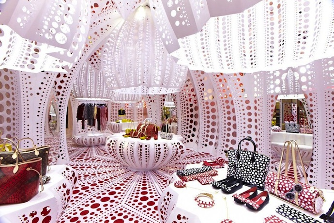 Louis vuitton selfridges london buro 24 7 for Buro shop concept