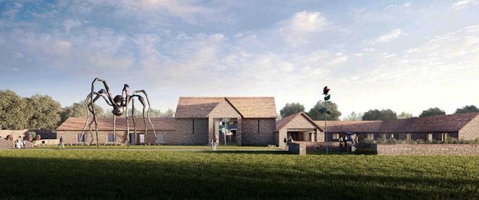 Галерея Hauser & Wirth в английской деревне (фото 2)