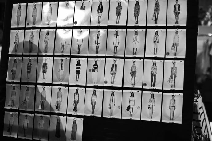 Скотт Шуман за кулисами показа Tommy Hilfiger (фото 6)